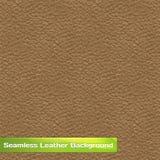 Texture sans couture de cuir de vecteur Image libre de droits