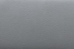 Texture en cuir grise Image stock