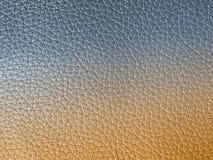 Texture en cuir grise Images stock