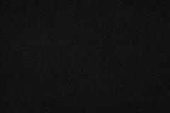 Texture en cuir noire Photographie stock