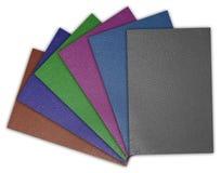 Texture en cuir ordonnée Images libres de droits