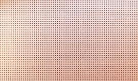Texture en cuir perforée métallique beige Texture en cuir avec image libre de droits