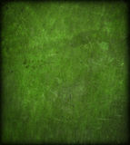 Texture en cuir rayée par vert Photo libre de droits