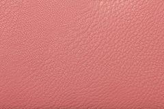 Texture en cuir rose Photo stock