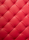 Texture en cuir rouge Photo libre de droits