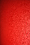 Texture en cuir rouge Photos libres de droits