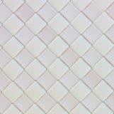 Texture en cuir tissée blanche Photographie stock libre de droits