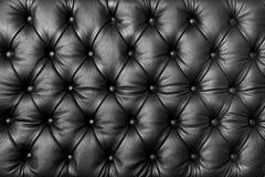 Texture en cuir tuftée Images stock