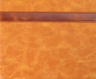Texture en cuir usée rayée avec la couture images libres de droits