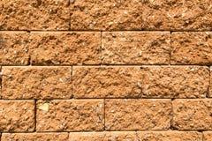 Texture en gros plan de mur de briques Image stock