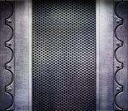 Texture en métal illustration stock