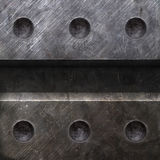 Texture en métal photos stock