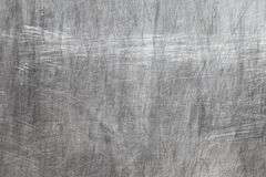 Texture en métal avec des éraflures Photo libre de droits