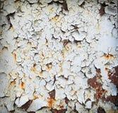 Texture en métal avec des brouillons Photo libre de droits