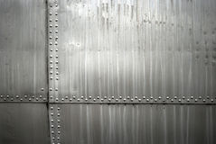 Texture en métal d'avions Image stock