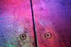 Texture en métal dans le pourpre images libres de droits