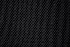 Texture en nylon noire de maille Photos stock