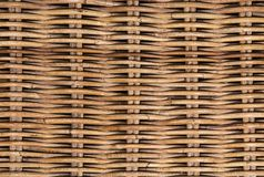 Texture en osier de rotin images stock