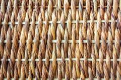 Texture en osier tissée Photo libre de droits