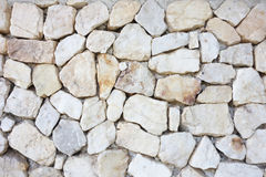 Texture en pierre blanche de fond de gravier texture en pierre blanche vide Photo libre de droits