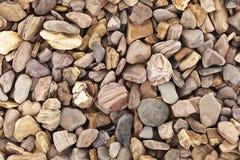 Texture en pierre brune exotique Photo libre de droits