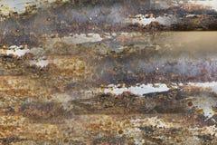 Texture en pierre colorée par ciel Photographie stock