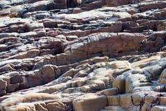 Texture en pierre d'érosion image libre de droits