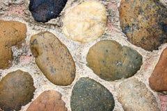 Texture en pierre de fond de groupe Photographie stock libre de droits