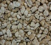 Texture en pierre de gravier des pierres de bâtiment Photographie stock libre de droits