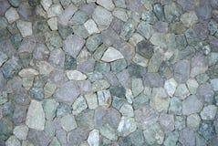 Texture en pierre de mur extérieur Images libres de droits