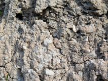 Texture en pierre dehors Image libre de droits