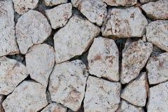 Texture en pierre en pierre blanche Image libre de droits