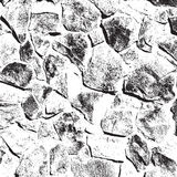 Texture en pierre sauvage Image stock