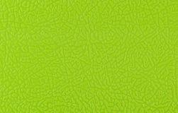 Texture en plastique verte Photographie stock