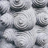 Texture en spirale Art Abstract Background de ciment de modèle Images libres de droits