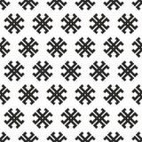 Texture en travers tribale abstraite sans joint Photographie stock