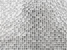 Texture en verre blanche de fond de modèle Photos stock