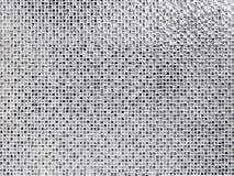 Texture en verre blanche de fond de modèle Images stock