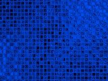 Texture en verre bleue de fond de modèle Photographie stock