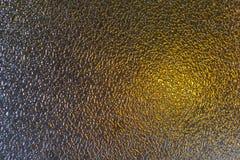 Texture en verre givré en tant qu'or de gris de fond Image libre de droits