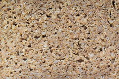 Texture entière de pain de Rye Image libre de droits