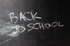 Erased chalk board. Texture of erased black chalk board royalty free stock photo