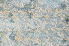 The texture is erased, damaged concrete coating.  stock photography