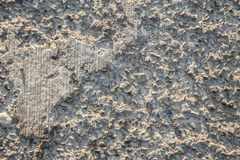 The texture is erased, damaged concrete coating.  stock photos