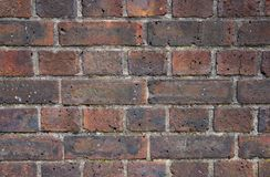 Texture of erose brick wall Royalty Free Stock Images