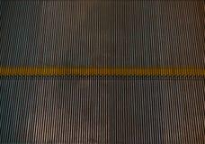 Texture of escalator step Royalty Free Stock Photo