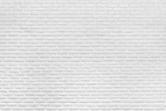 Texture et fond blancs modernes de mur de briques photos stock