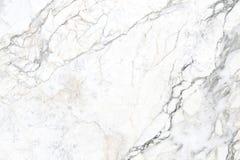 Texture et fond de marbre blancs pour le modèle de conception Photo libre de droits