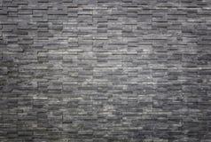 Texture Et Fond Noirs De Mur Du0027ardoise De Intérieur Ou Extérieur  Photographie Stock