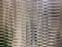 Texture et modèle métalliques argentés de fond pour la décoration Image libre de droits